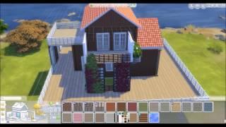 Sims 4 ¤ Speed bild - Summer home
