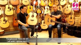 Tanglewood tw2 as st (all solid) by AcousticThai.Net