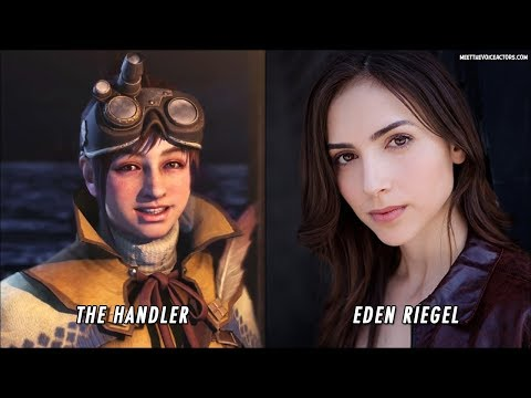 Monster Hunter World Characters Voice Actors thumbnail