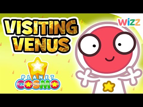 Planet Cosmo - Visiting Venus | Cartoons for Kids | Wizz