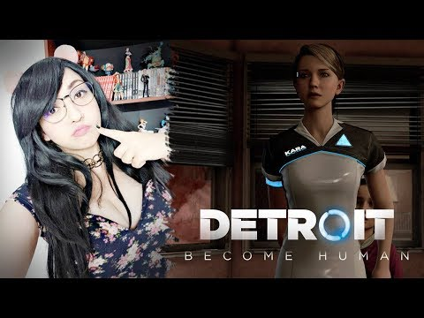 Salva a una niña antes de dormir Detroit: Become Human Parte 03 | Viryd in the mirror