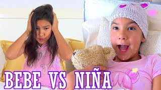 NiÑA VS BeBÉ | TV Ana Emilia