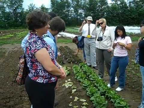Latin American IVLP Delegation at High Mowing Organic Seeds
