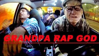 Download lagu Grandpa Uber Driver KILLS Rap God at 120% Speed!!!