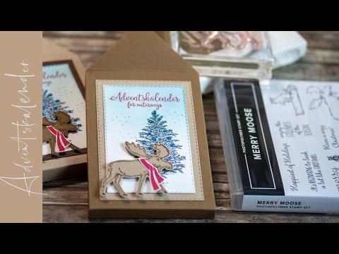 Adventskalender to go - Merry Moose von Stampin' Up!