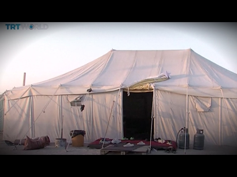 Money Talks: Kuwaiti upmarket tents