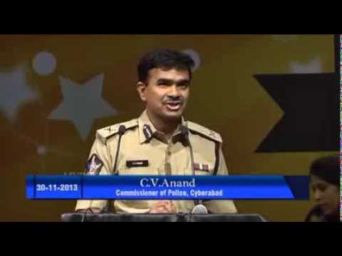 C.V. Anand- Commissioner Of Police, Cyberabad