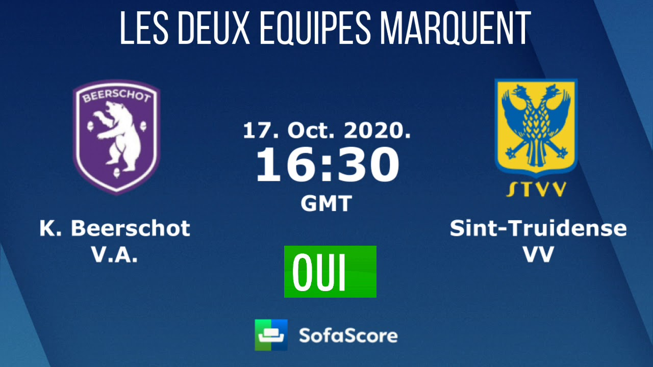 Pronostic Foot Beerschot V A Vs St Truiden Championnat Belgique Youtube