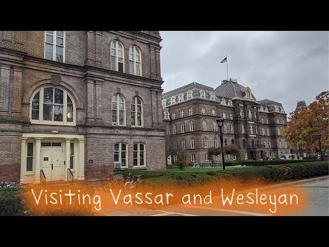 Visiting Vassar College and Wesleyan University
