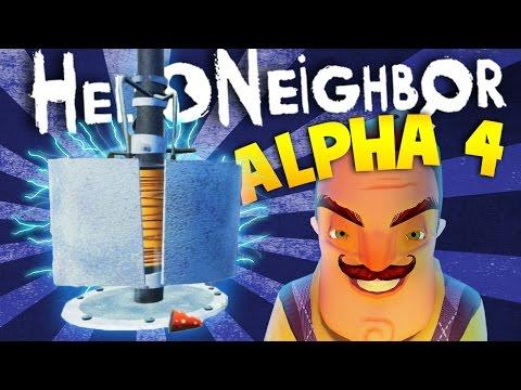 EXPLORING MORE SECRETS IN HELLO NEIGHBOR ALPHA 4 | Hello Neighbour Alpha 4