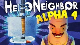 EXPLORING MORE SECRETS IN HELLO NEIGHBOR ALPHA 4   Hello Neighbour Alpha 4