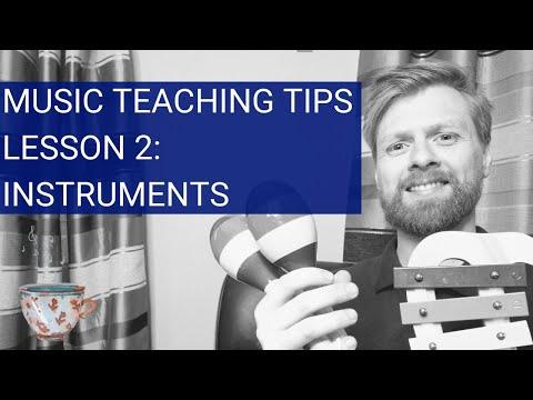 Teaching Tips | Music Instruments | EYFS KS1 Teachers | 5 Minutes of Music Episode 2