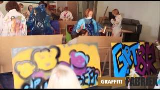 graffiti-fabriek - graffiti workshop teambuildingsactiviteit