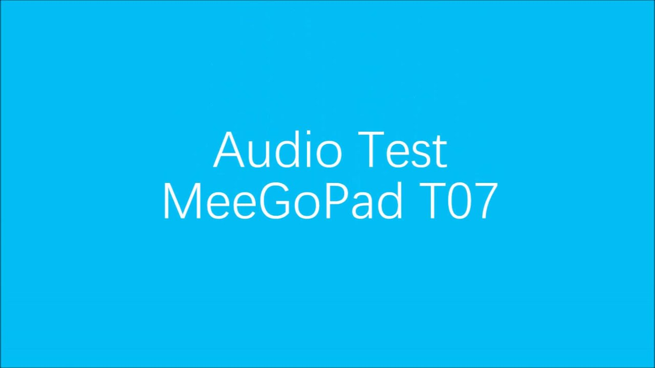 MeeGoPad T07 4GB RAM Indiegogo Intro Video - YouTube