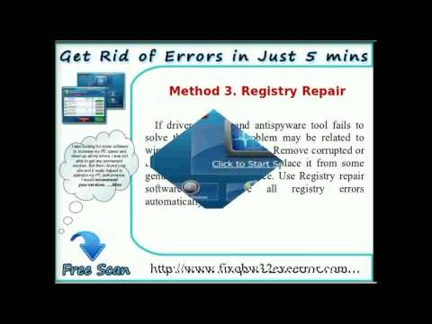 Know Best Methods to Fix Qbw32.exe Error