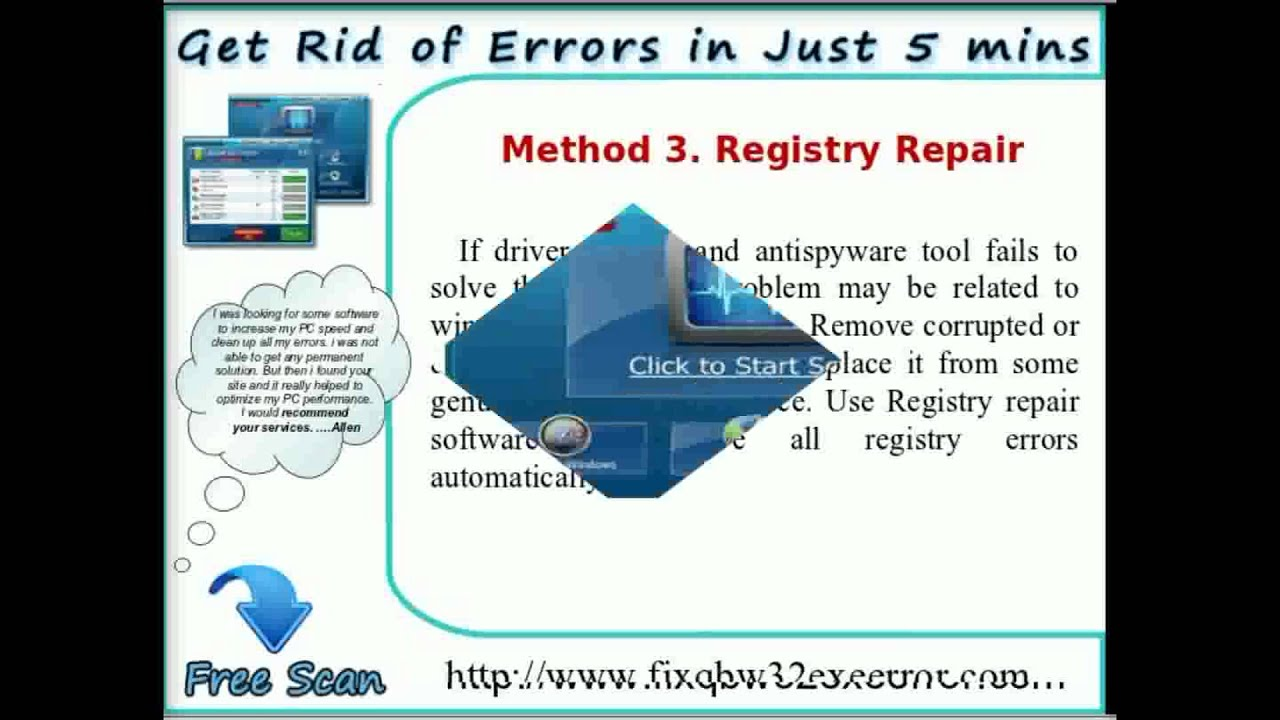 Know Best Methods to Fix Qbw32.exe Error - YouTube