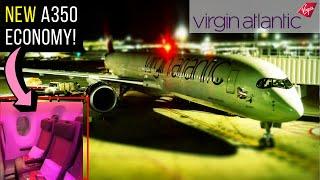 Flying Virgin Atlantic's A350-1000...in ECONOMY CLASS!