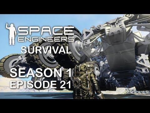 Space Engineers, Survival - Season 1, Episode 21 - Building An MBV \u0026 Pirate Scouting