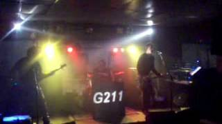 "G211 performing ""FIGHT FOR YOUR RIGHT"" cover at BAR 53 on February 27, 2010"