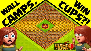 Clash of Clans ♦ Does This Actually WORK? ♦ The 'False Imprisonment' Base ♦ CoC ♦