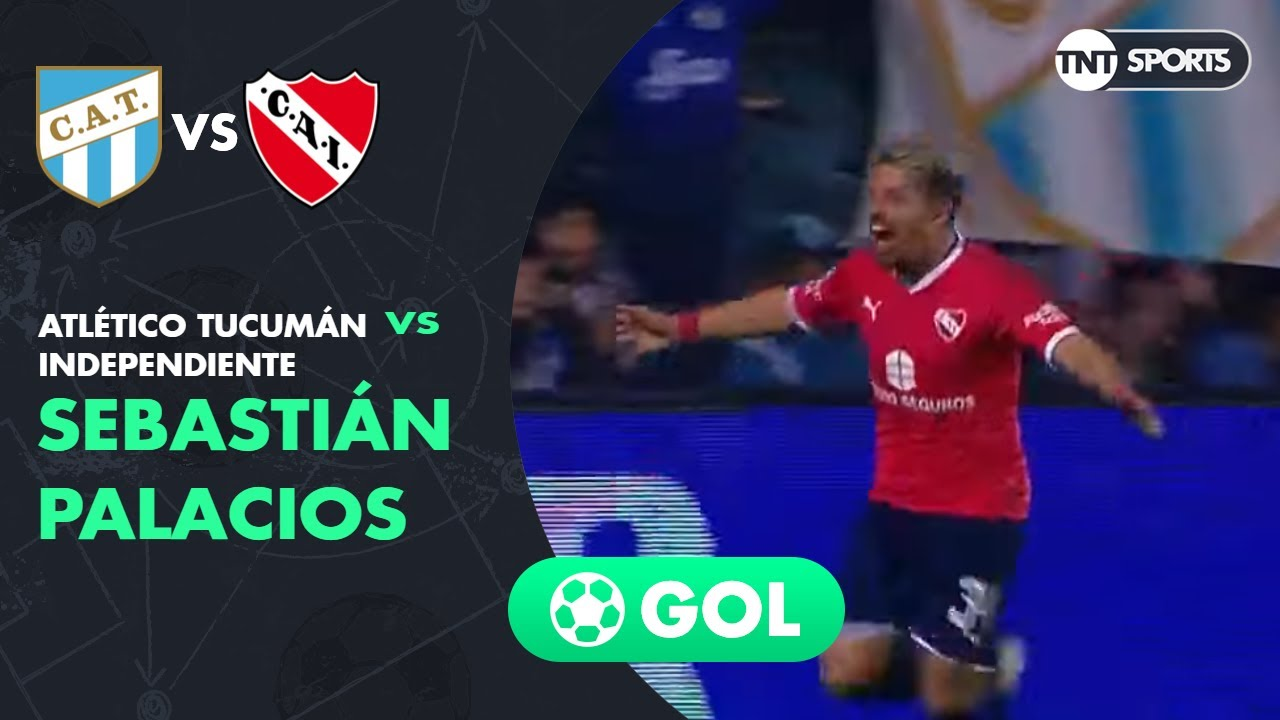 Sebastián Palacios (0-1) Atlético Tucumán vs Independiente | Fecha 7 - Superliga Argentina 2019/2020