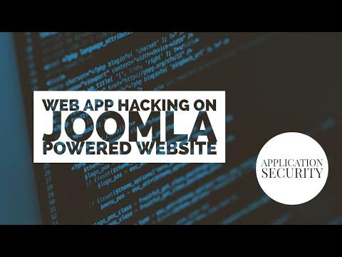 Tutorial: Web Application Hacking (Joomla Powered Website)