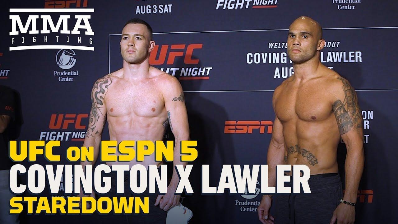 UFC on ESPN 5: Colby Covington...