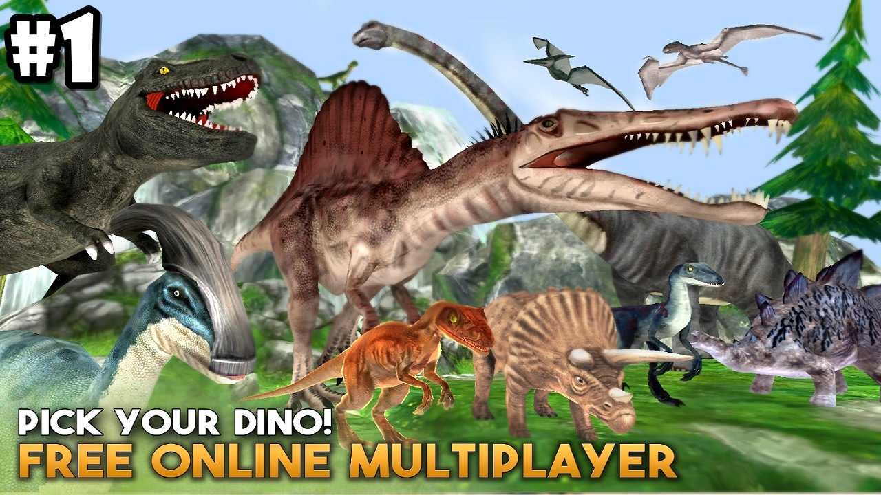 Dino World Online - Hunters 3D By Foxie Games - Android ...