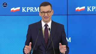 Mateusz Morawiecki - konferencja dot. gospodarki
