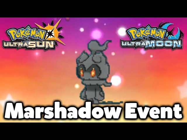 MARSHADOW QR CODE EVENT GAMEPLAY! HOW TO GET MARSHADOW