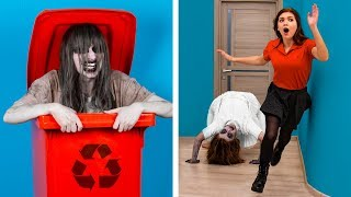 Try Not To Laugh: 14 Halloween Pranks Gone Wrong / DIY Halloween Decor Ideas