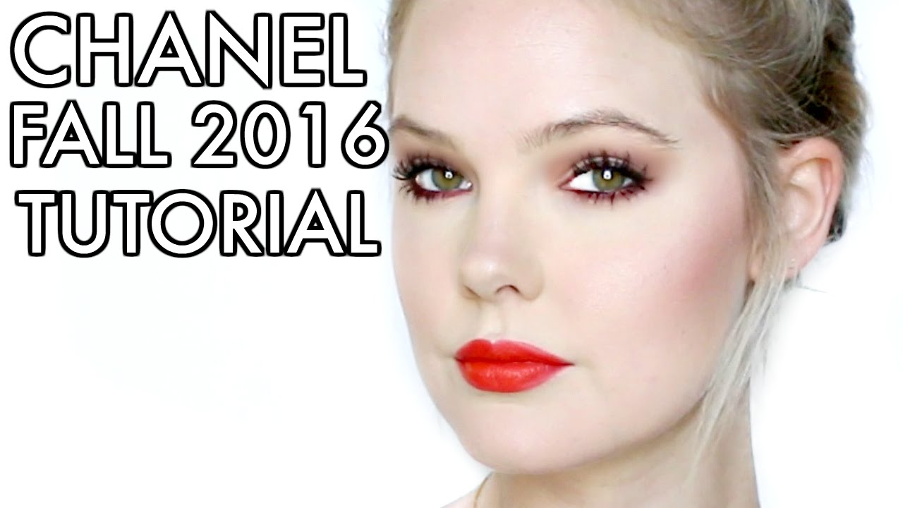Chanel fall 2016 makeup tutorial le rouge collection youtube baditri Images
