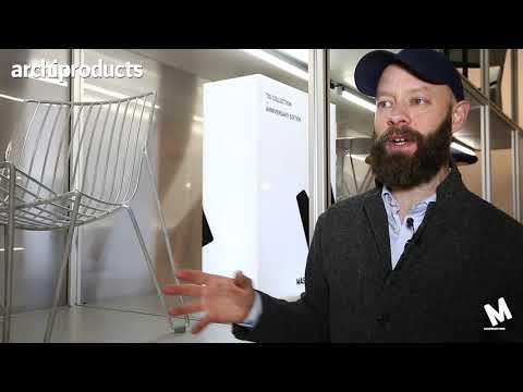 Stockholm Furniture & Light Fair 2019 | MASSPRODUCTION - Magnus Elebäck presents Tio chair
