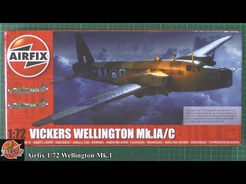 Airfix 1/72 Wellington Mk.1 review