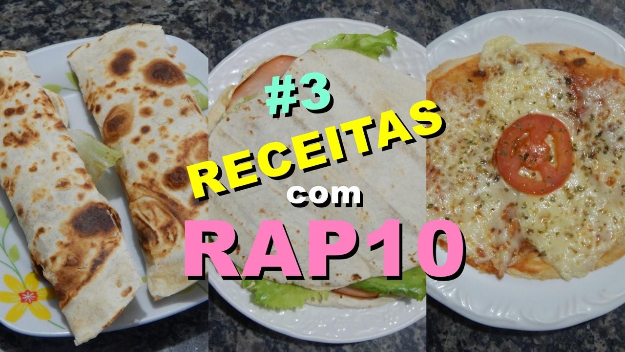 3 Receitas F 193 Ceis E Deliciosas Com Rap 10 Youtube