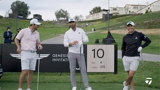 DJ, Wolff & Collin 2-Ball Challenge on the 10th Hole at RIV | TaylorMade Golf