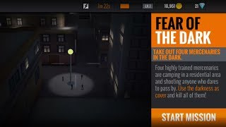 Sniper 3D Assassin - Fear Of The Dark Take Out Four Mercenaries In The Dark