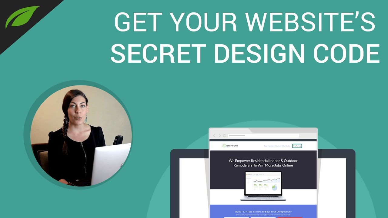 How to Make Your Website Look Professional in Easy 3 Steps - YouTube