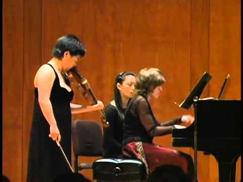 Yura Lee, violin - Bartok Sonata No.1, Sz75 (3 of 3)
