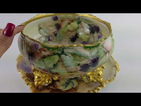 This Week's Find Of The Week Antique Hand Painted Limoges Porcelain