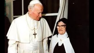 SR. LUCY OF FATIMA struggles to tell THE THIRD SECRET