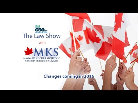 Changes coming in 2016 - Canadian Immigration