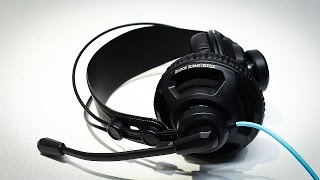 Roccat Renga Gaming Headset Unboxing & Review (Greek)