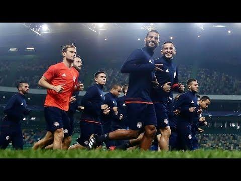 Η προπόνηση πριν την Σπόρτινγκ! / Training ahead of match against Sporting CP!