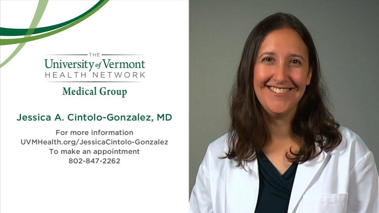 Jessica A  Cintolo-Gonzalez, MD - Surgery - Burlington, Vermont (VT)