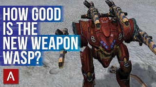 War Robots - NEW Weapon Wasp (Medium Corrosion Weapon)   Test Server 4.4