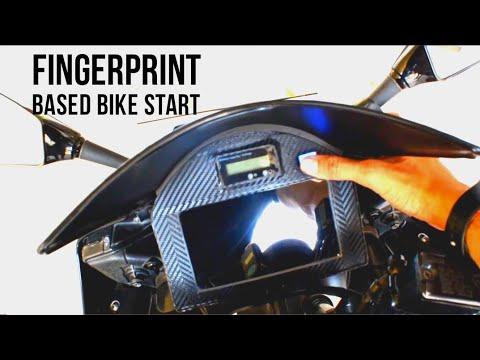 #yamaha #r15  How To Make Fingerprint Bike Start || Yamaha R15 V2 Smart Bike