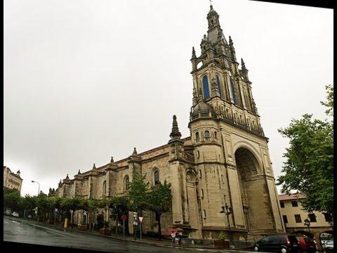 BILBAO (ESP) - Basilica CHURCHBELLS Nuestra Senora de Begona - YouTube