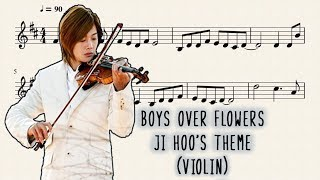 Boys Over Flowers - Ji Hoo's Theme (Violín)