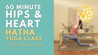 Hips & Heart (60 min)   Hatha Yoga Class   Ayurveda Yoga with Michelle